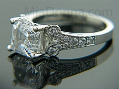 Asscher Diamond Bridal