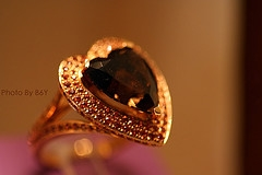 Brown Diamond Ring
