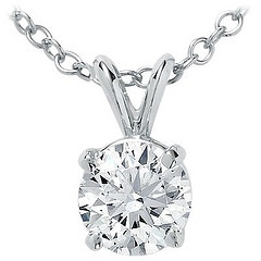 Diamond Pendant Earring