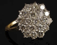 Gold Diamond Cluster