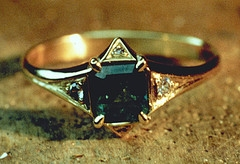 Gold Emerald Diamond