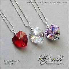 Heart Crystal Pendant