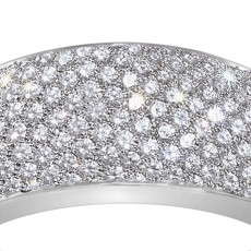 Platinum Pave Diamond