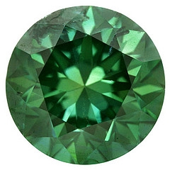 Round Green Diamond